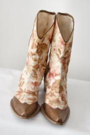 San Marina - Beige bruin gekleurde boots - Mt 39