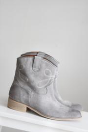 ShoeColate - Lichtblauw suède lederen cowboy boots - Mt 38 & 41