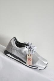 Post X Change - Zilver lederen sneakers - Mt 40 & 41