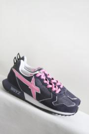 W6YZ - Donker paars roze sneakers - 41