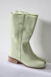 Elizabeth Stuart - Limoen groen suede laarzen - Mt 38