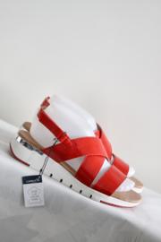 Caprice - Rood lak lederen sandalen - Mt 39