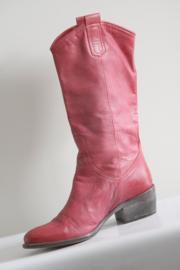 Muratti - Roze lederen laarzen - Mt 38