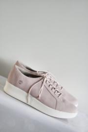 Timberland - Zacht roze lederen sneakers - Mt 42