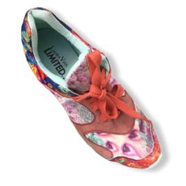 Laura Vita Limited - Oranje gekleurde sneakers - Mt 39