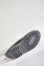 Bershka - Zwart brogue veterschoenen met plateau - Mt 38