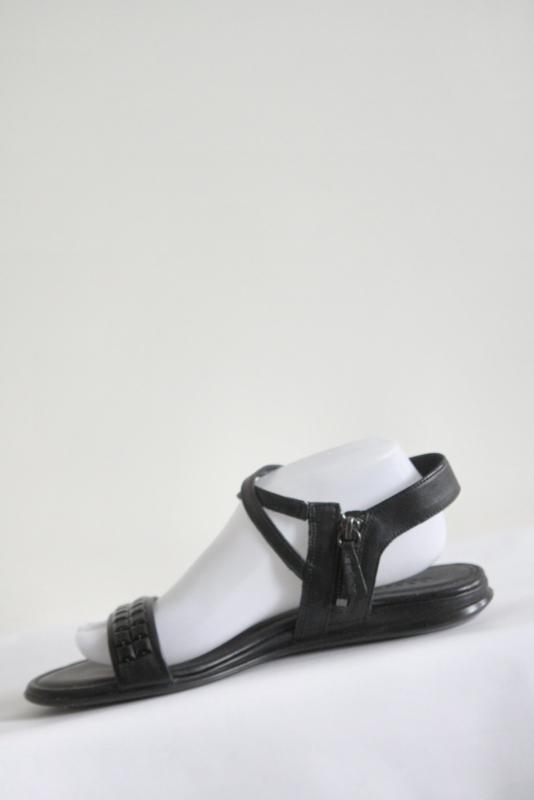 Ecco Zwart lederen sandalen met riempjes Mt 41 | NEW IN