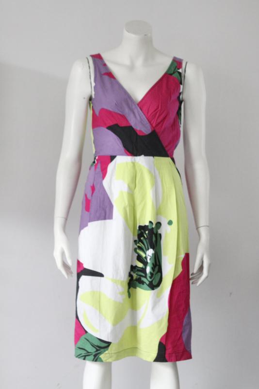 Blacky Dress Berlin - Gekleurde pencil dress met print - Mt 38