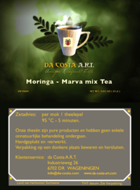 Moringa / Marva Mix  25 gram.  ( extra droog )