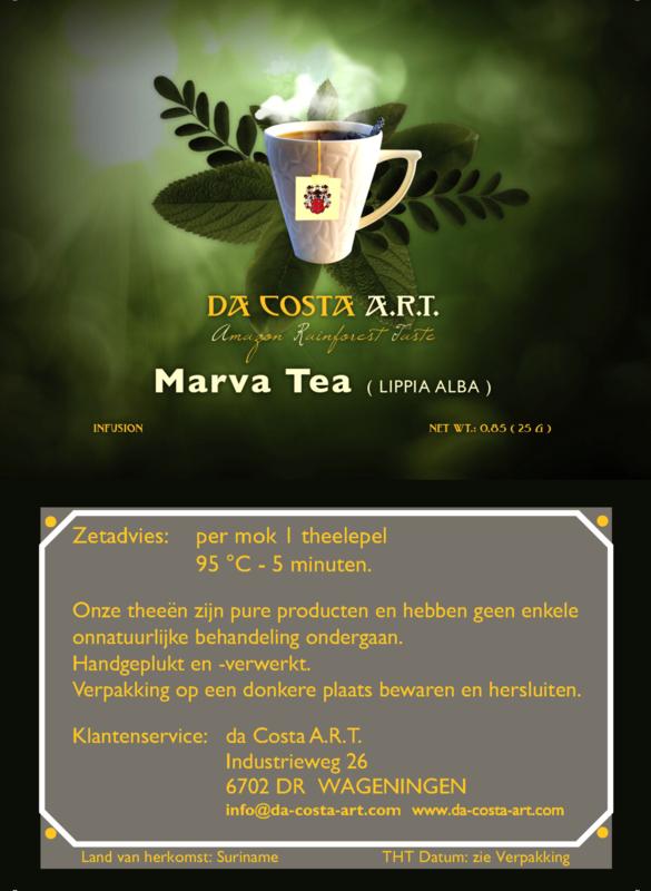 Marva thee  25 gram ( extra droog )