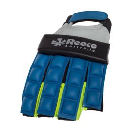 Blauwe Hockey protectie handschoen halve vingers