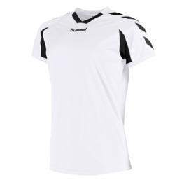 Wit dames shirt korte mouw Hummel Everton