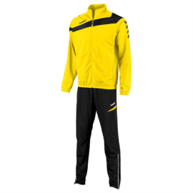 Hummel Elite Teamlijn trainingspak geel