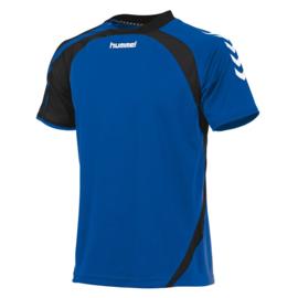 Hummel Odense blauw shirt met korte mouwen
