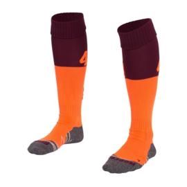 Oranje bruine Numbaa hockeysokken