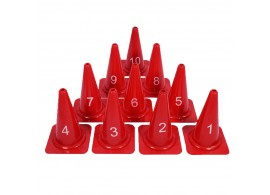 Genummerde kegels en pionnen