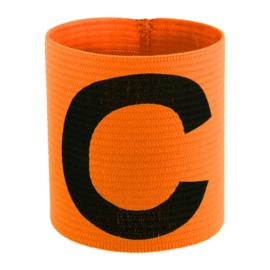 Oranje aanvoerdersband met Captain