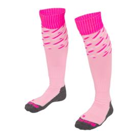 Roze hockeysokken met print van Reece