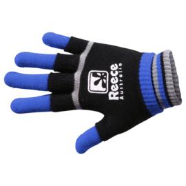 Blauw zwarte Reece Australia hockey handschoenen