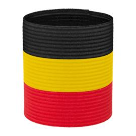 Aanvoerdersband rood zwart geel