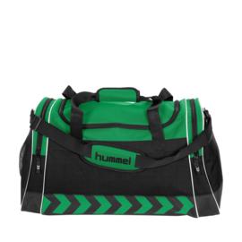 Grote groene Hummel sporttas voetbaltas