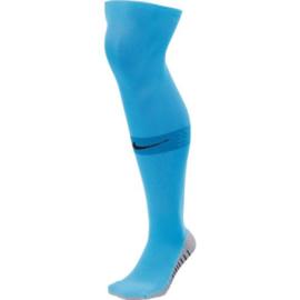 Lange lichtblauwe Nike keeperssokken