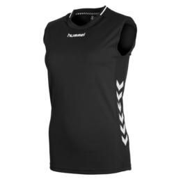 Mouwloos zwart shirt dames Lyon van Hummel