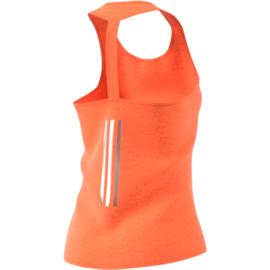 Oranje running shirt Adidas dames Supernova