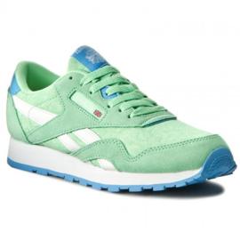 Groene Reebok running schoenen