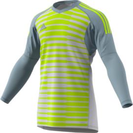 Keepershirt Adidas 2018 grijs geel Adipro