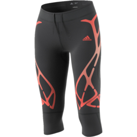 Dames hardloop legging driekwart Adidas