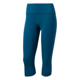 Driekwart running broek dames blauw Adidas