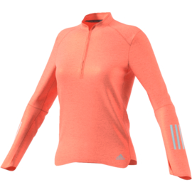 Roze running zip trui dames running