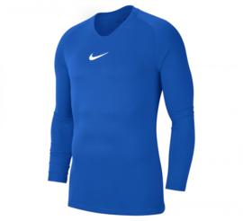 Blauw Nike thermoshirt