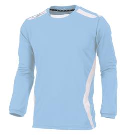 Lichtblauw Hummel shirt lange mouw Club