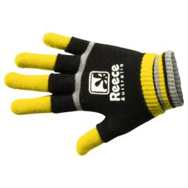 Geel zwarte Reece Australia hockey handschoenen