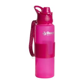 Roze siliconen bidon
