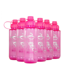 5 roze Reece hockey bidons