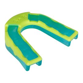 Blauw / groen bitje voor bescherming van je tanden