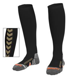 Zwarte lange Hummel sokken