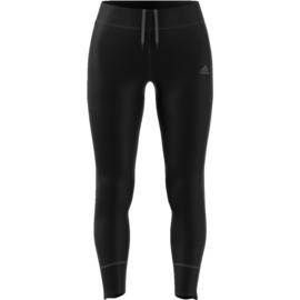 Adidas zwarte dames hardloopbroek