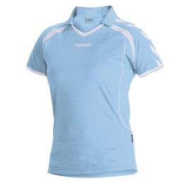 Hummel Brasil shirt ladies lichtblauw