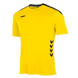 Geel t-shirt korte mouw Valencia van Hummel