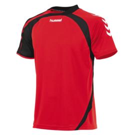 Hummel Odense rood shirt met korte mouwen