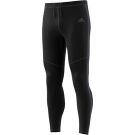 Lange zwarte running broek Adidas heren
