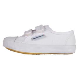 Witte gymschoenen