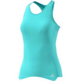 Adidas running shirt dames blauw