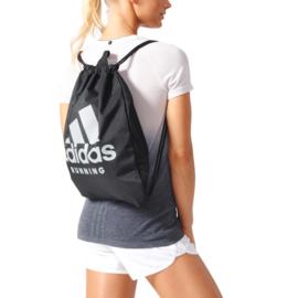 Zwarte Adidas rugzak / gymtas