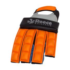 Neon Oranje Hockey protectie handschoen halve vingers