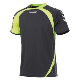 Hummel Odense grijs shirt met korte mouwen